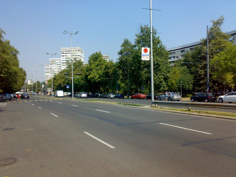 Ще бъде въведена временна организация на булевард Демокрация. Снимка Архив
