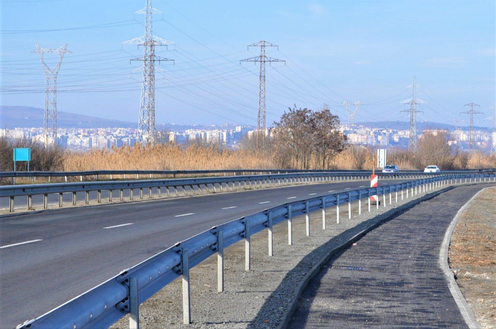 Велоалеята до Пода е с дължина четири километра. Снимки Община Бургас