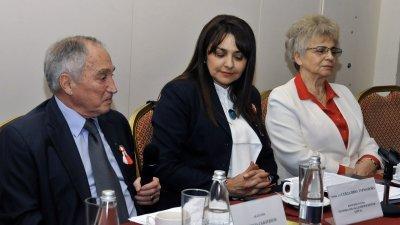 Академик Никола Съботинов бе един от лекторите на форума. Снимки Черноморие-бг