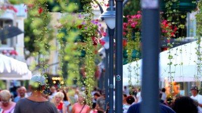 Дни на цветята е първият тематичен уикенд и той започва на 6-ти май. Снимка Община Бургас