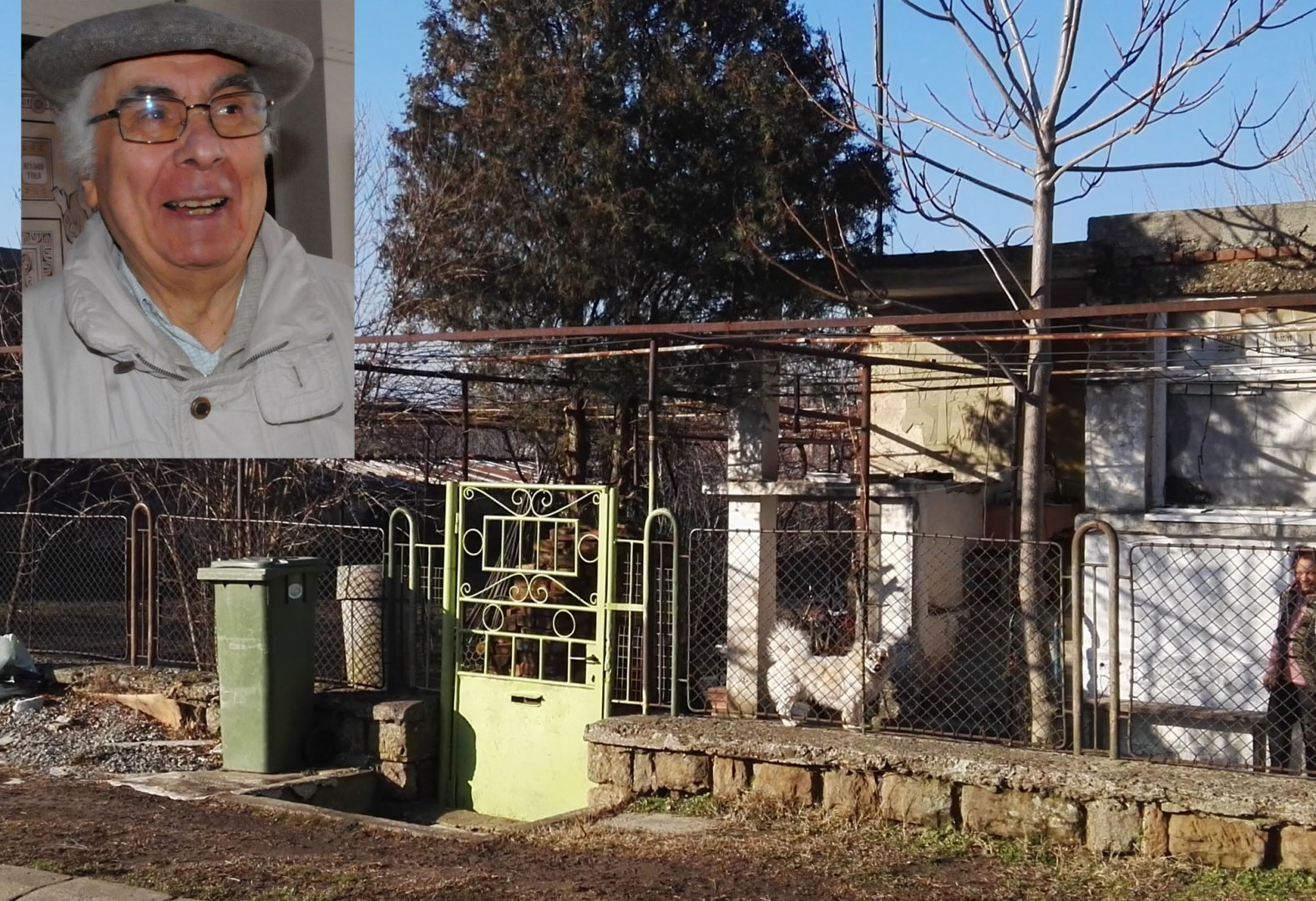 Родната къща на Енчо Рачев е била в Българово. Снимки Лина Главинова и личен архив