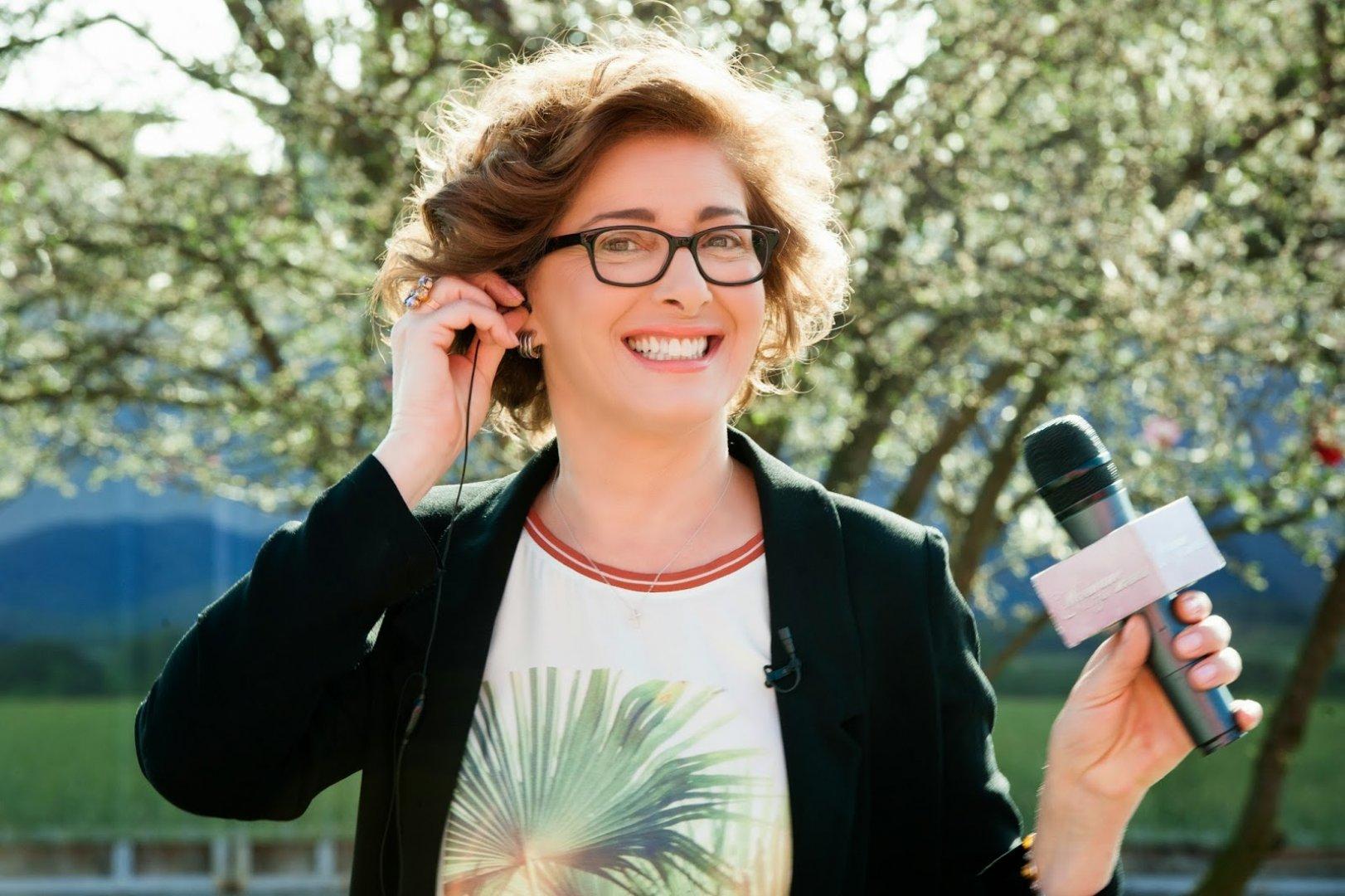 От есента Катерина Евро отново застава пред телевизионната камера. Снимка Икар Прес