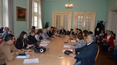 Комисията по заетост заседава в Областна управа. Снимка Областна управа