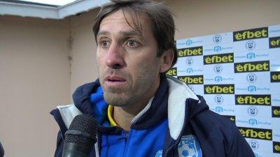Веселин Бранимиров ще води отборът в оставащите срещи до края на сезона