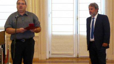 Наградата е отговорност, призна Милен Николов - директор на РИМ - Бургас