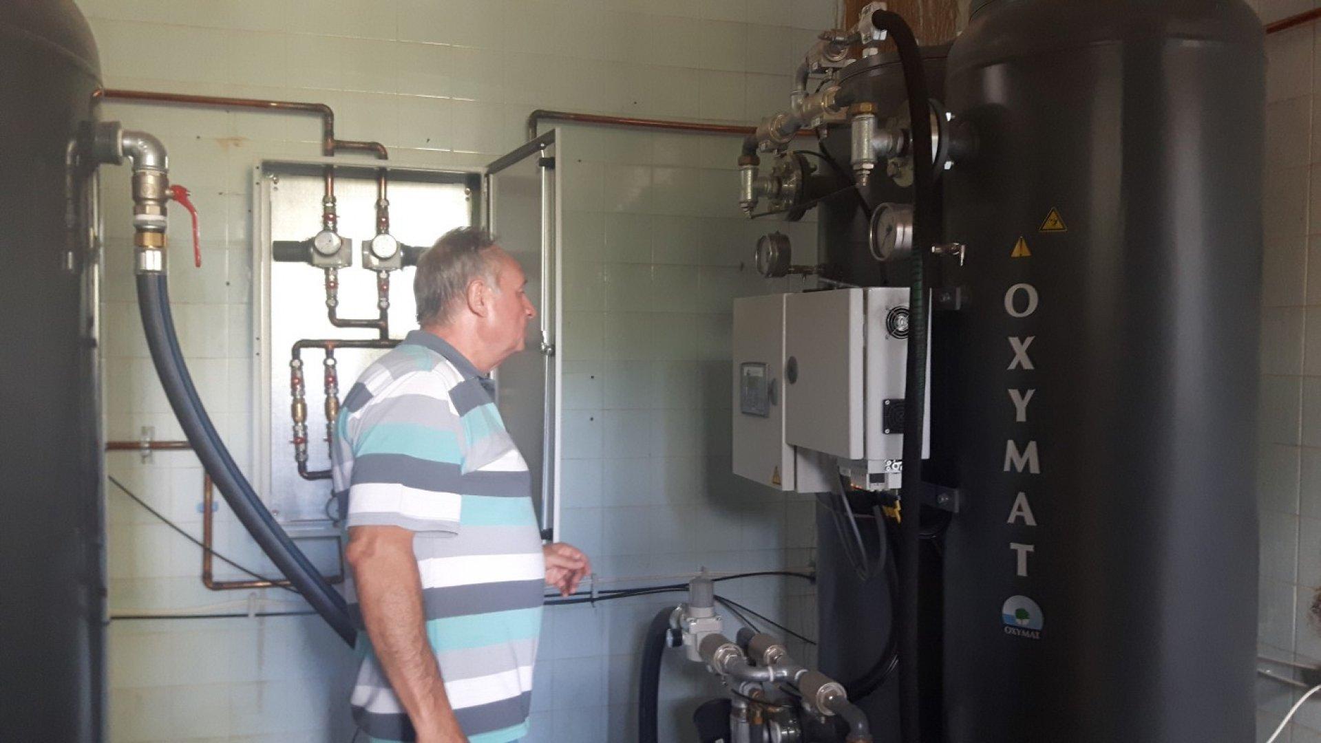 Концепцията, по която работи инсталацията е коренно различна от използваната до момента. Снимки УМБАЛ - Бургас