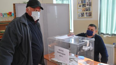 76,02% бе избирателната активност на местния референдум