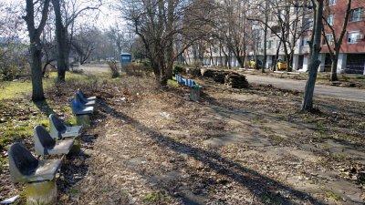 Пространството ще бъде обновено по програмата Моят град, моят квартал, моята улица. Снимки Община Бургас
