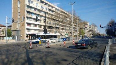Реорганизацията на движението ще важи за периода от 08.00 до 19.00 часа в неделя. Снимка Община Бургас