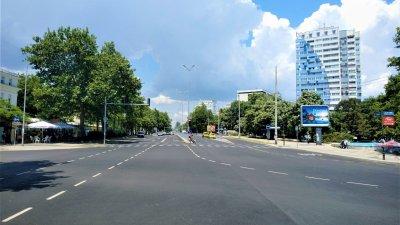 Така изглежда обновеният булевадр Демокрация. Снимки Община Бургас