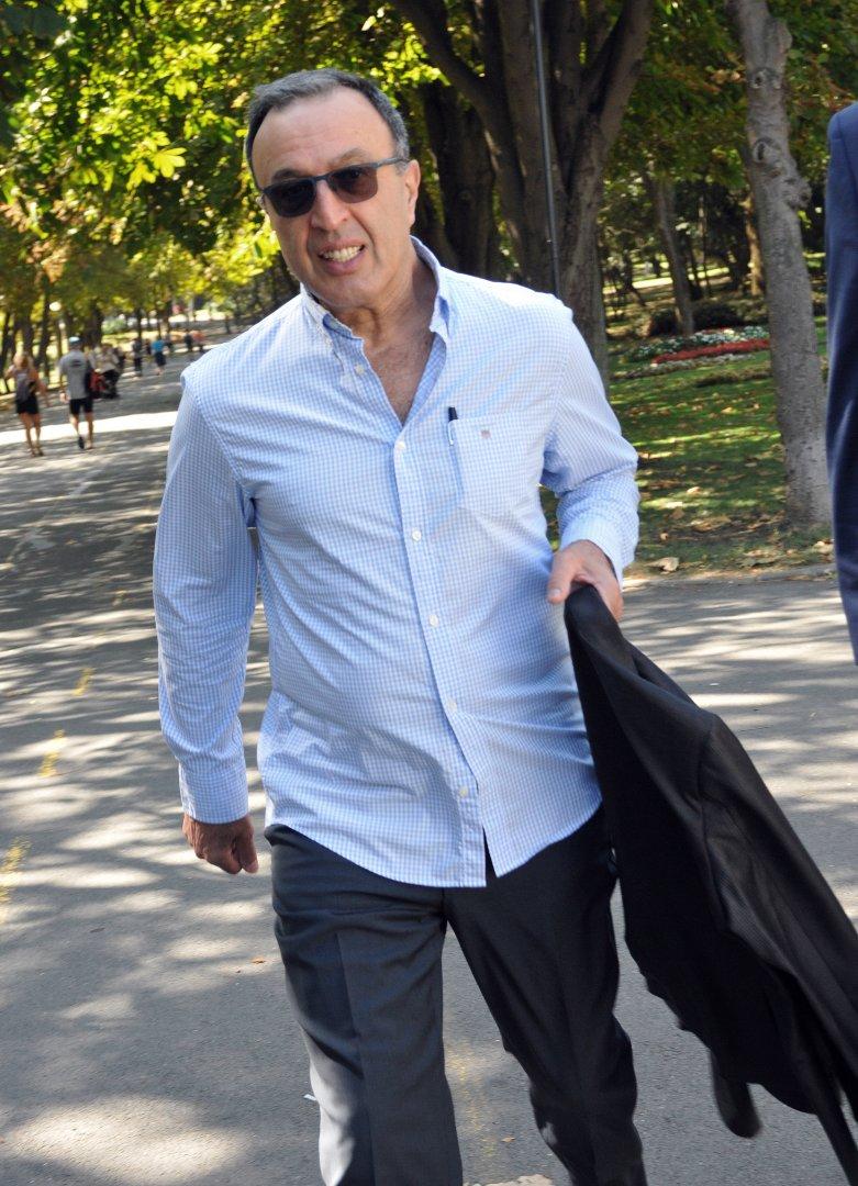 Президентът Петър Стоянов участва в среща, организирана от МСДС. Снимка Тодор Ставрев