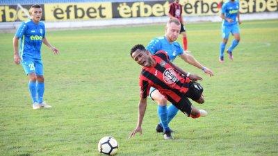 Поморийци загубиха с 1:3 срещата с Локомотив. Снимки ОФК Поморие