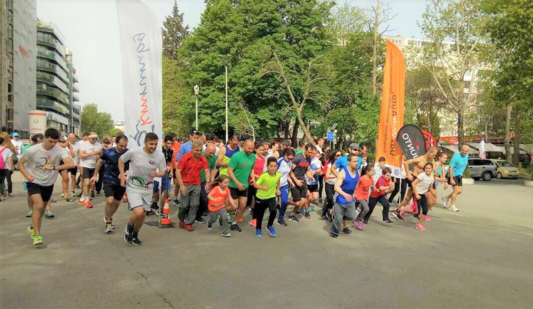 Участниците в Бургас рън могат да избират между 3 дистанции