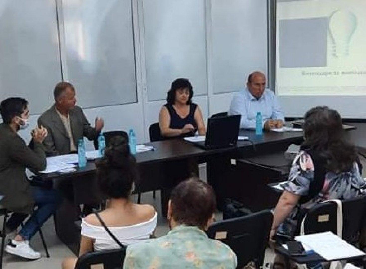 Ползите от проекта ще се усетят след реализацията му, каза кметът на Средец Иван Жабов. Снимка Община Средец