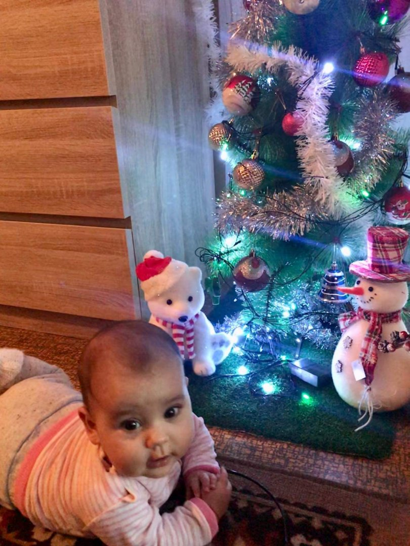 Снимката на малката Дария ни изпрати нейната баба