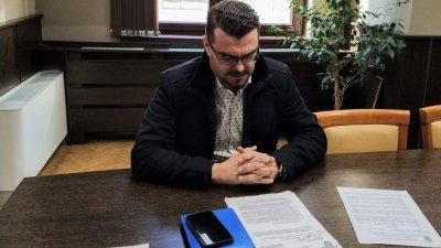 Андрей Рунчев - шеф на ОП Транспорт защити докладната в Комисията по култура. Снимка Черноморие-бг