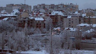 Столицата осъмна в снежна прегръдка. Снимка Георги Димитров/Vesti.bg
