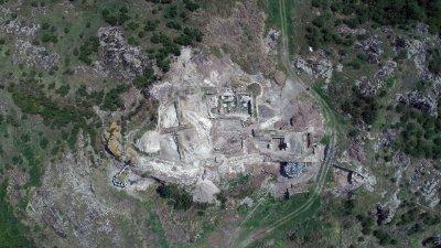 Това е сред важните открития направени от началото на разкопките от 2006 година. Снимки РИМ - Бургас