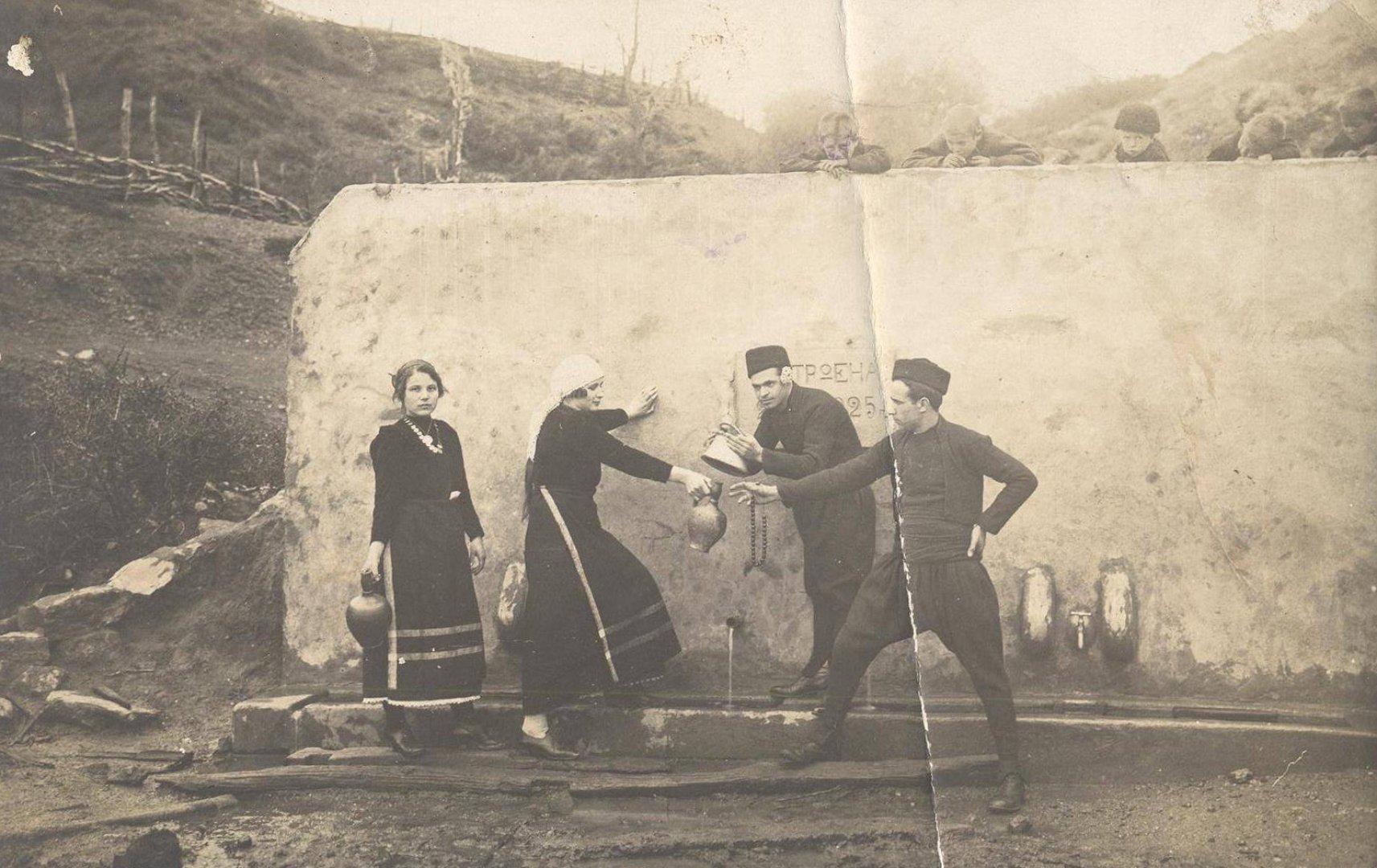 Едно време сглядата давала възможност да се огледа момата. Снимка Етнографски музей Бургас
