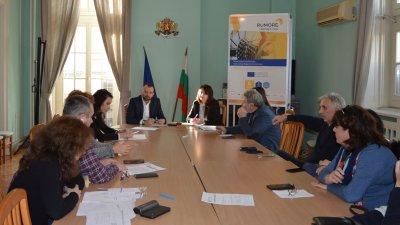Следващото заседание на щаба е насрочено за 18-ти януари. Снимка Областна управа - Бургас
