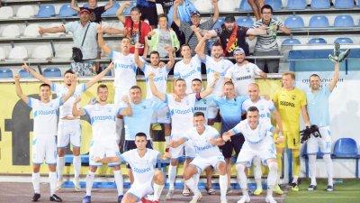 Отборът на Созопол продължава напред. Снимка ФК Созопол