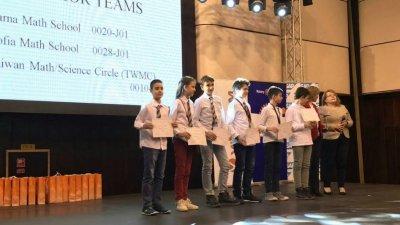 Варненските математици спечелиха общо 18 медала. Снимка Община Варна