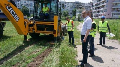Спортният комплекс ще бъде разположен върху площ от 17 дка. Снимки Община Варна