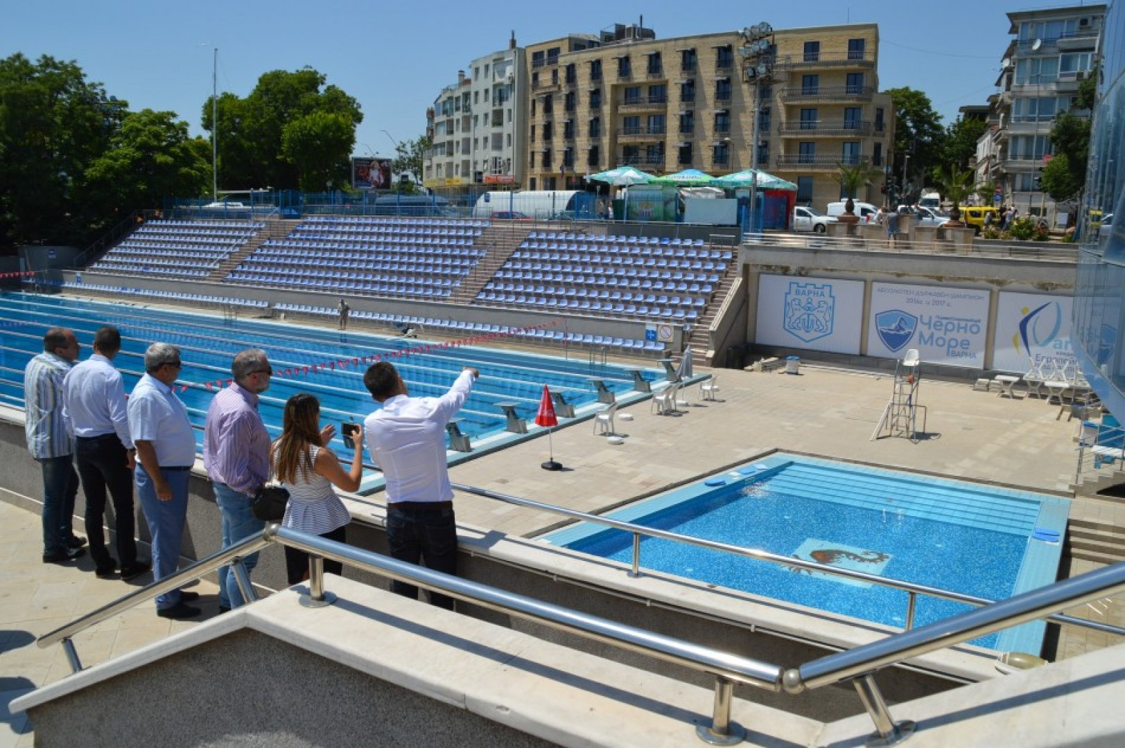 Експертите от АСЕS останали впечатлени от видяното в морската столица. Снимка Община Варна
