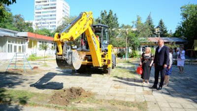 Новият корпус е с капацитет за 120 деца. Снимки Община Варна