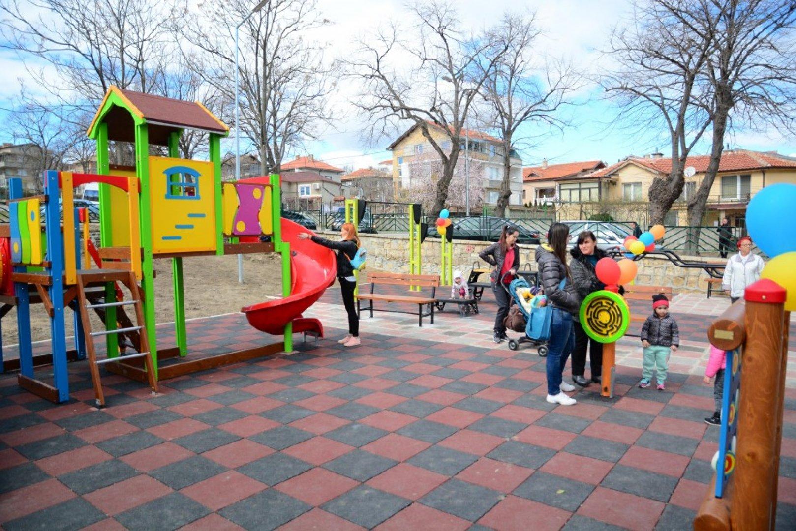 Съоръженията се простират на площ от 2 дка. Снимки Пресцентър Община Варна