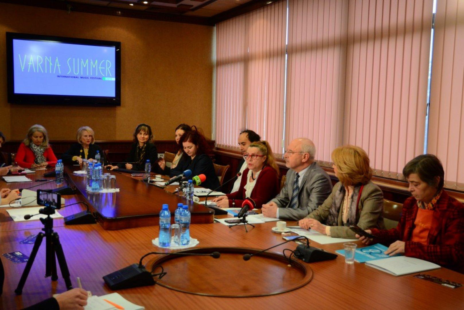 Екипът на фестивала разкри подробности около тазгодишното издание. Снимка Община Варна