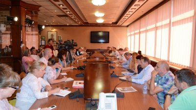 Мерките бяха обсъдени на разширено заседание. Снимка Община Варна