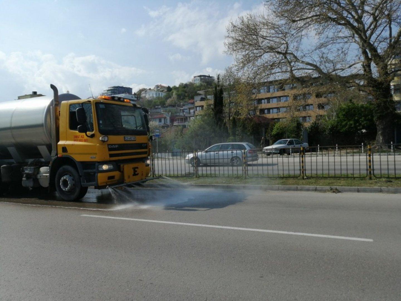 Целта е намаляване на фините прахови частици и подобряване качеството на въздуха. Снимка Община Варна