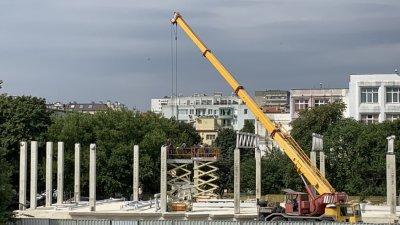Залата трябва да бъде въведена в експлоатация до края на октомври. Снимка Община Варна