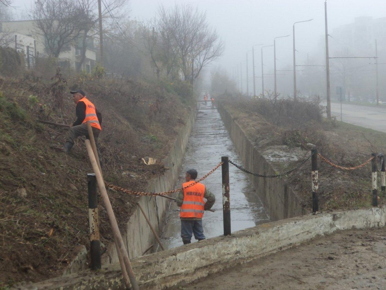 Почистването ще продължи до края на февруари 2019 година. Снимка Община Варна