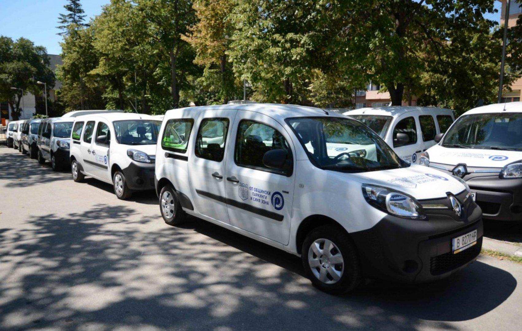 Станциите ще бъдат монтирани в обхвата на Синята зона във Варна. Снимка Община Варна