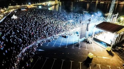 Кулминацията на празника е от 20.00 часа. Снимка Община Варна
