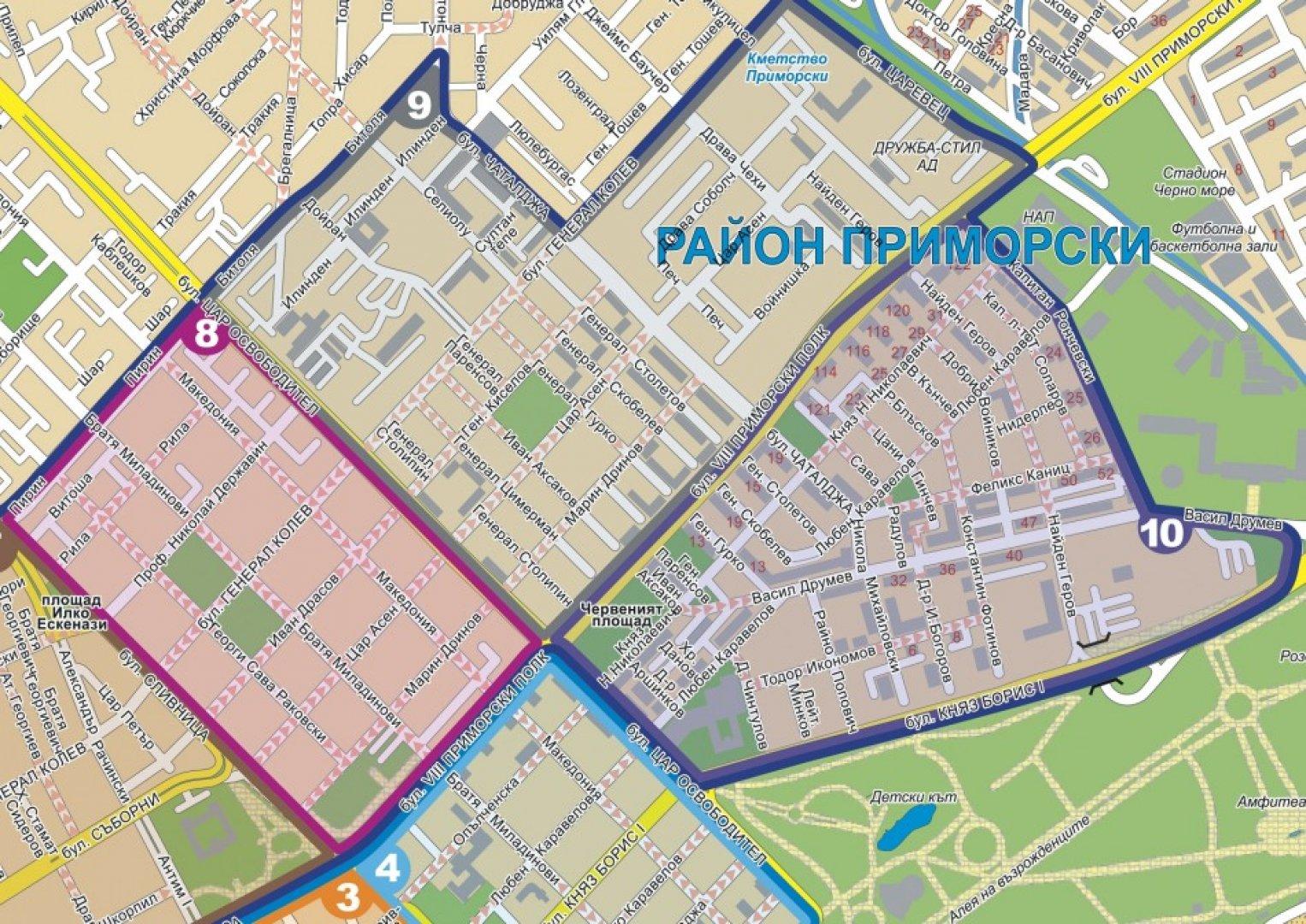 Работното време на зоната ще бъде от 09.00 до 19.00 часа в делнични дни. Снимка Община Варна