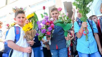 За първа година първокласниците ще влизат по нови правила. Снимка Пресцентър Община Варна